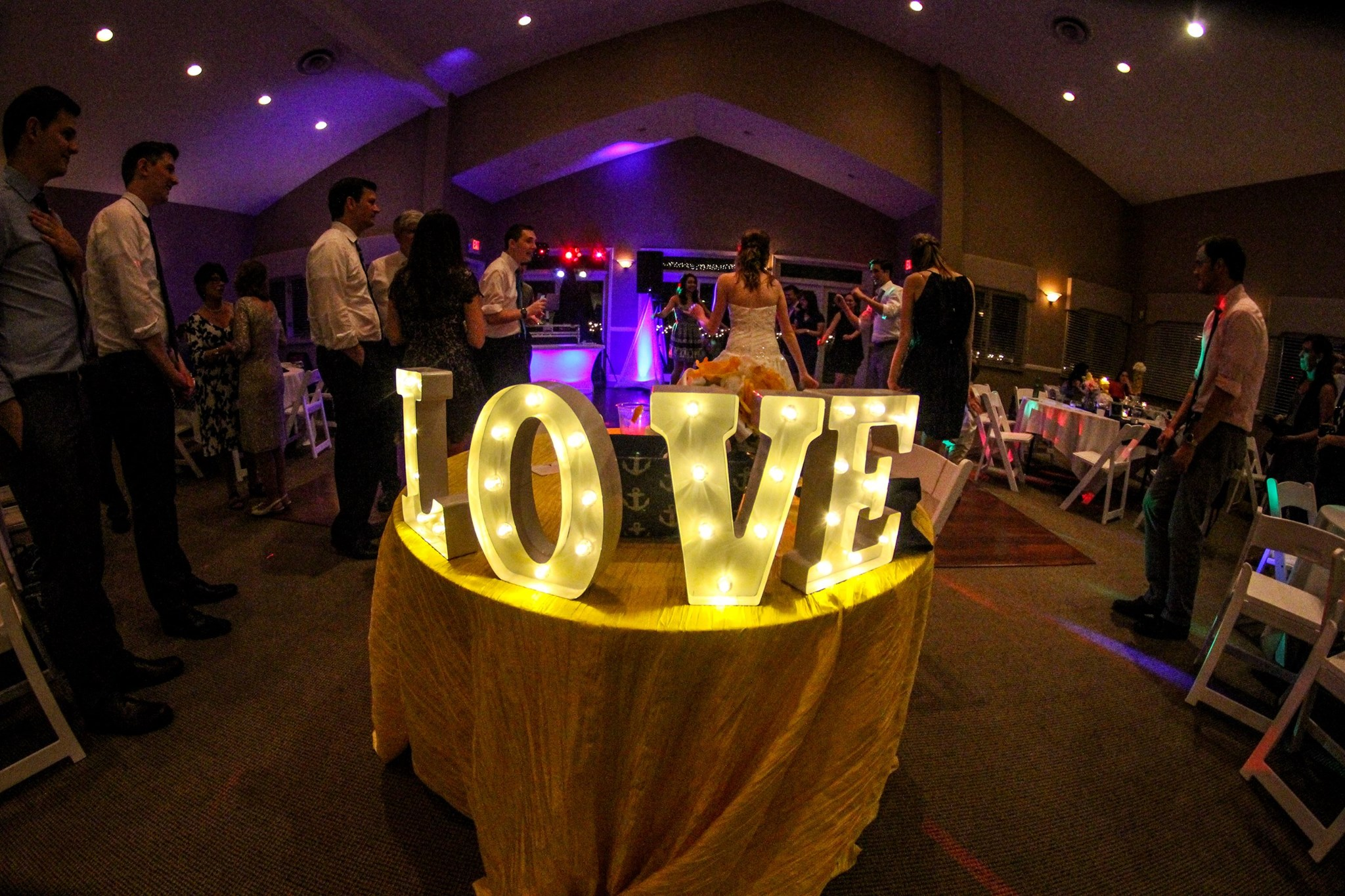 Love in lights at community life center east side of indianapolis