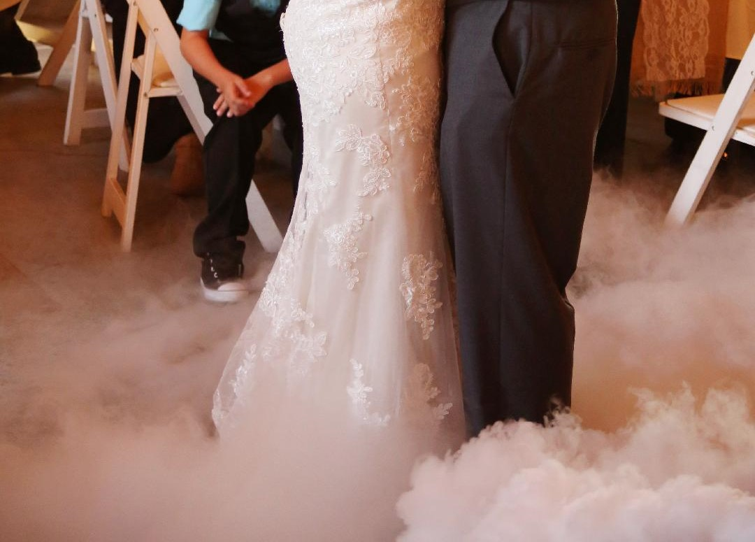 Dancing on the Clouds At Avon Wedding Barn an Exclusive offering from Music Life Line Wedding DJs (2)